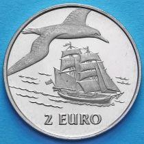 Нидерланды токен 2 евро 1997 год. №2