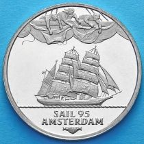 Нидерланды токен 2 экю 1995 год. Парусник «Sagres»
