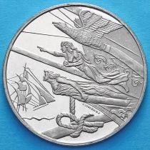 Нидерланды токен 5 флоринов 2000 год. Гальюнная фигура.