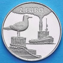Нидерланды токен 2 евро 1997 год. №3