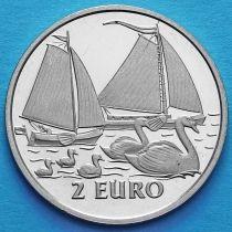Нидерланды токен 2 евро 1997 год. №4