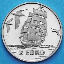 Нидерланды токен 2 евро 1997 год. №5