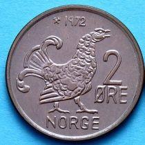 Норвегия 2 эре 1972 год. Глухарь.