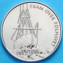 Норвегия 5 крон 1996 г. Экспедиции Нансена 100 лет.