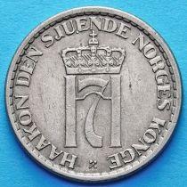 Норвегия 1 крона 1956 - 1957 год.