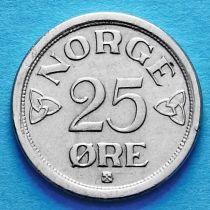 Норвегия 25 эре 1953-1957 год.
