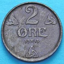 Норвегия 2 эре 1945 год.