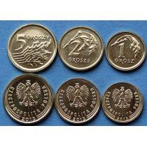 Польша набор 3 монеты 2014 год.