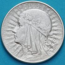 Польша 5 злотых 1934 год. Ядвига. Серебро