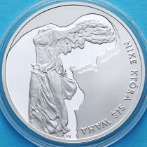 Польша 10 злотых 2008 год. Збигнев Херберт. Серебро