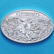 Польша 10 злотых 2010 год. Грюнвальдская битва. Серебро.