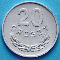 Польша 20 грошей 1985 год.