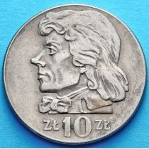 Польша 10 злотых 1969-1971 год. Тадеуш Костюшко. Малый размер.