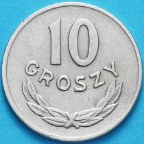 Польша 10 грошей 1949 год. Медно-никелевый сплав