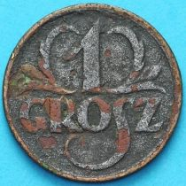 Польша 1 грош 1925 год.
