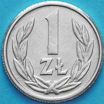 Польша 1 злотый 1990 год.