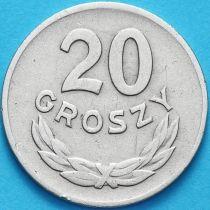 Польша 20 грошей 1949 год. Медно-никелевый сплав