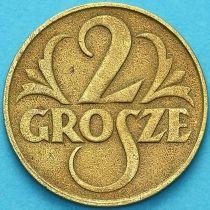 Польша 2 гроша 1923год. №1