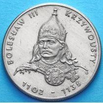 Польша 50 злотых 1982 год. Князь Болеслав III Кривоустый.