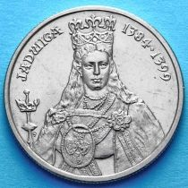 Польша 100 злотых 1988 г. Королева Ядвига