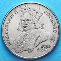 Польша 500 злотых 1989 год. Король Владислав II Ягайло