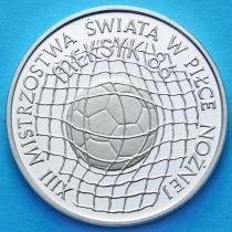 Польша 500 злотых 1986 год. Чемпионат мира по футболу-86. Серебро