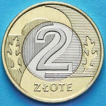 Польша 2 злотых 2017 год.