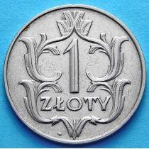 Польша 1 злотый 1929 год.