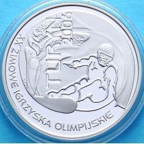 Польша 10 злотых 2006 год. Сноуборд, Турин. Серебро