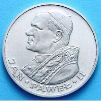 Польша 1000 злотых 1983 год. Иоанн Павел II. Серебро.