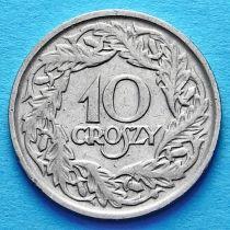 Польша 10 грошей 1923 год.
