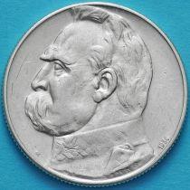 Польша 5 злотых 1934 год. Легионер. Серебро