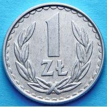 Польша 1 злотый 1983, 1985 год.