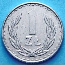 Польша 1 злотый 1986 - 1988 год.
