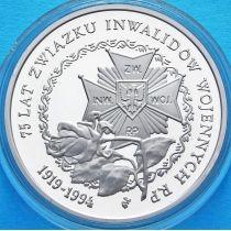 Польша 200000 злотых 1994 год. Орден. Серебро.