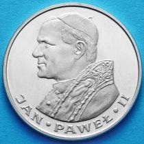 Польша 1000 злотых 1982 год. Иоанн Павел Второй. Серебро
