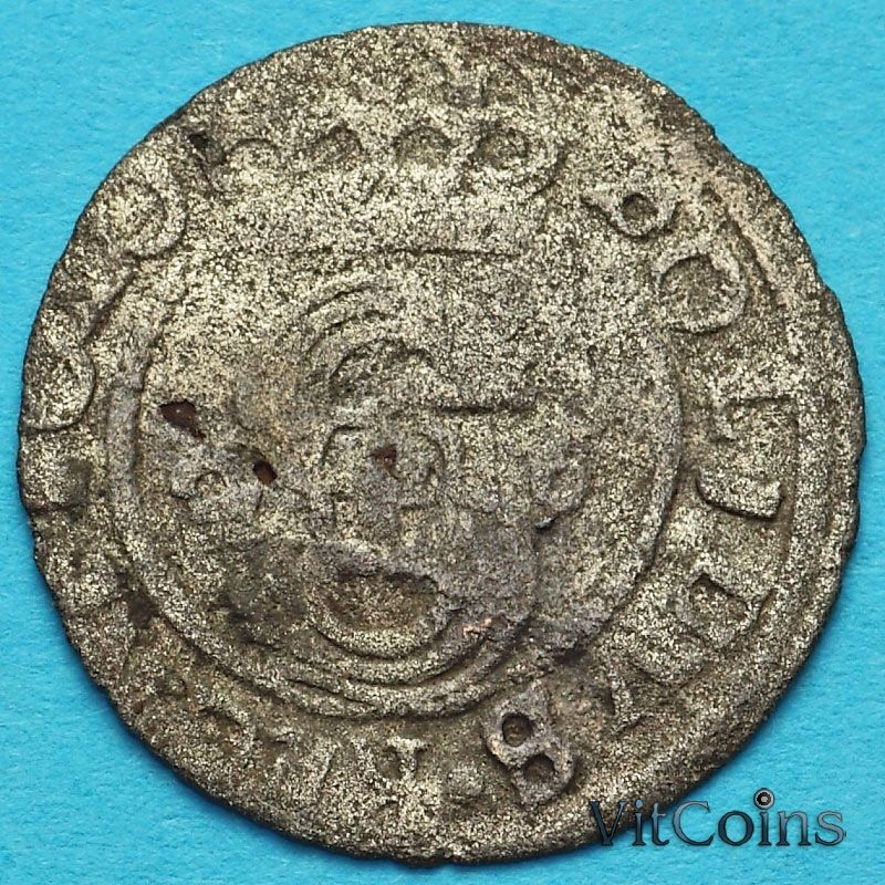 Ливония монета солид 1626 год. Сигизмунд III Ваза.