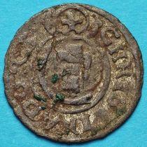 Ливония монета солид 1642 год. Кристина.