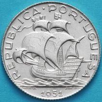 Португалия 2,5 эскудо 1951 год. Серебро.