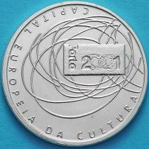 Португалия 500 эскудо 2001 год. Порту. Серебро.