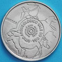 Португалия 2.5 евро 2010 год. Археологический парк долины Коа.