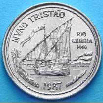 Португалия 100 эскудо 1987 год. Нуну Триштан.