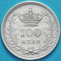 Португалия 100 рейс 1910 год. Серебро.