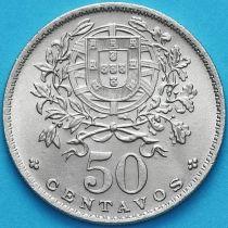 Португалия 50 сентаво 1967 год.
