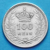 Португалия 100 рейс 1909 год. Серебро.