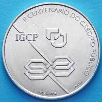 Португалия 1000 эскудо 1997 год. 200 лет государственному кредитованию. Серебро