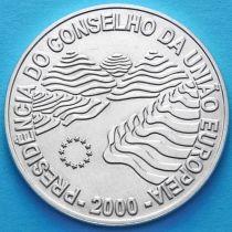 Португалия 1000 эскудо 2000 год. Председательство Португалии в Евросоюзе. Серебро