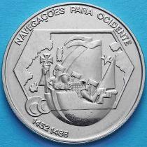 Португалия 200 эскудо 1991 год. Навигация на запад.