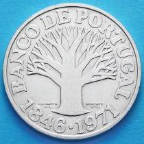 Португалия 50 эскудо 1971 год. Банк Португалии. Серебро.