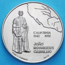 Португалия 200 эскудо 1992 год. Калифорния.